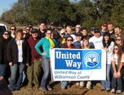Starbucks employees throughout Central Texas gathered at the Williamson County Regional Park on MLK Day to help restore the disc golf course. It was one of many restoration and clean-up projects organized north of Austin by United Way of Williamson County.