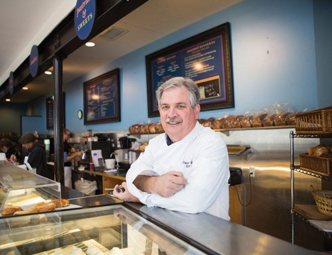 Jim Murphy, owner of Sweetish Hill Bakery, considers Texas' margin tax to be an income tax.