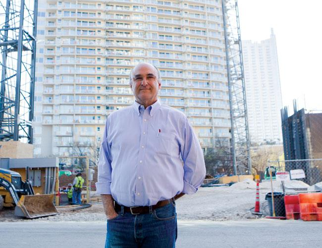 Developer Perry Lorenz said builders see trees as assets, but sometimes it makes sense to remove them.