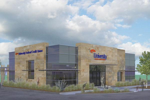 UFCU's new branches will look similar to traditional ones, but they won't employ as many workers, thanks to technology. That'll cut down on costs.