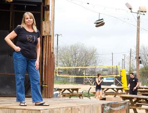 Weirdos co-owner Cecelia Fortney and her son Jesse opened the restaurant in 2010. There are a lot of venues like it in South Austin but few in the north.