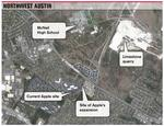Apple's new Austin neighbors: Cattle and quarries — and they ain't mooovin' anytime soon, experts say
