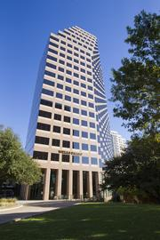 One Congress Plaza is the third-highest appraised building downtown, at $117 million. The 534,191-square-foot building is owned by Thomas Properties Group Inc.  One Congress was built in 1987 and designed by Susman Tisdale Gayle Architects Inc.