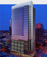 Georgia-based Cousins Properties Inc. is expected to break ground on Colorado & Third this year. The 30-story office building includes 390,000 square feet of office space, 6,000 square feet of ground level retail space and 900 parking spaces. San Antonio-based Hixon and Silver Ventures will partner with Cousins on the tower. An estimated cost was not disclosed.