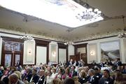 A large crowd gathered to honor the top chief financial officers.