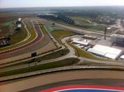 Once on top of the observation tower, fans get a view of the entire track.