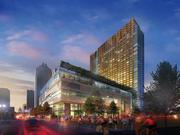 The JW Marriott, one of the most prominent construction projects in Austin, is scheduled to be completed in 2015. The 1,012-room hotel going up on Congress Avenue and Second Street will feature 110,500 square feet of meeting space. The $300 million project will be the largest Marriott in the U.S. when completed by Indiana-based White Lodging Services Corp.