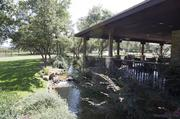Spicewood Vineyards has built a landscaped event hall. The vineyard hosts a wide range of events, from wine club meetings to weddings.