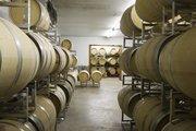 The Flat Creek Estate houses 300 barrels of wine underground.