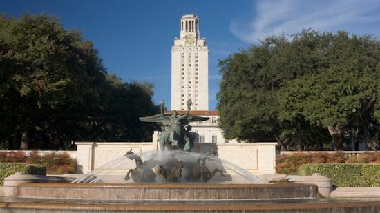 UT evacuated all buildings this morning due to a bomb threat.