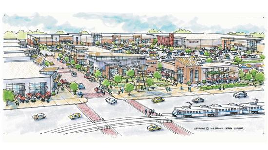 Several retail tenants have been announced for Canton Crossing.