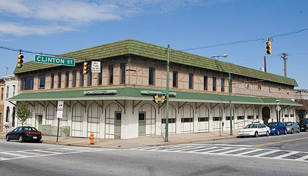 The former Haussner's restaurant in Highlandtown.