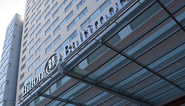 The Hilton Baltimore Convention Center Hotel is among five hotels to ink sponsorships with the Baltimore Grand Prix.
