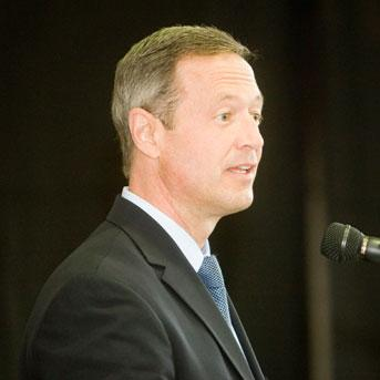 Martin O'Malley is headed toward a second term as governor of Maryland.