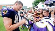 Todd Heap when he played for the Baltimore Ravens