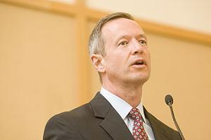 Gov. Martin O'Malley drove the $5,000 jobs tax credit.