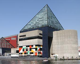 The National Aquarium in Baltimore is among the projects William Donald Schaefer pushed for.