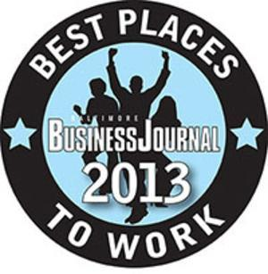 The Baltimore Business Journal is accepting nominations for its 2013 Best Places to Work contest.