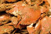 Baltimore's top local seafood:Steamed crabs. Visitors to Baltimore always ask the same question: Where's the best place for steamed crabs? In the summer, residents and tourists are known for rolling up their sleeves, grabbing a mallet, a pitcher of cold beer and cracking open a few Maryland steamed crabs.