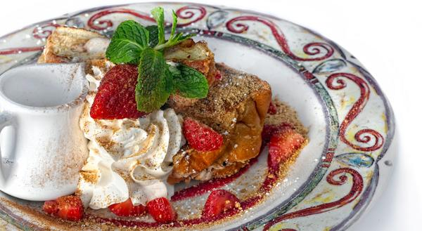 The french toast at Miss Shirley's.