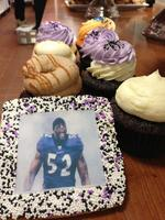 Baltimore Ravens-themed baked goods are hot sellers