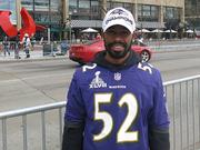 Jared Lee said his boss at United Healthcare, let him attend the Ravens Super Bowl parade.