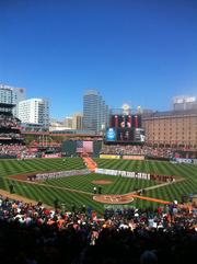 Oriole Park at Camden Yards had 1.76 million people come out to watch baseball in 2011, making it No. 6 on our List.