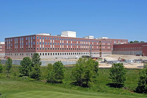 The Defense Information Systems Agency building in Fort Meade, Md.