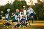 Soccer is a popular sport at Key School, which is coed.