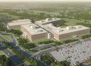 A rendering of the new building for Defense Information Systems Agency (DISA) at Fort Meade. The building is more than 1 million square feet.