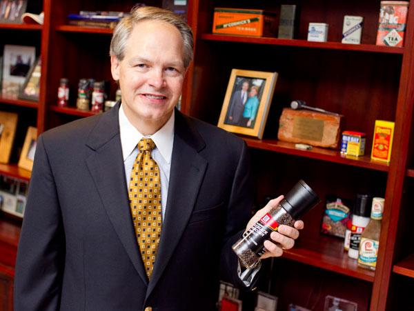 McCormick CEO Alan Wilson will honored at Loyola's business leader of the year.