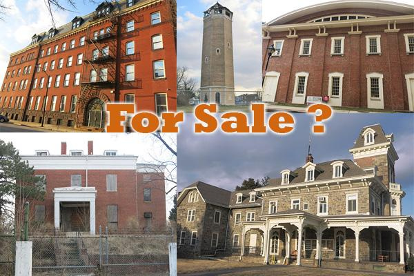 A new report suggests 17 city landmarks be leased or outright sold.