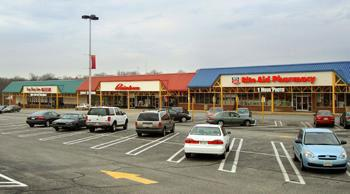 The Alameda Shopping Center in Northeast Baltimore.