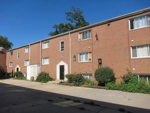 An apartment building 5032 Denmore Ave. will be auctioned on Oct. 4.