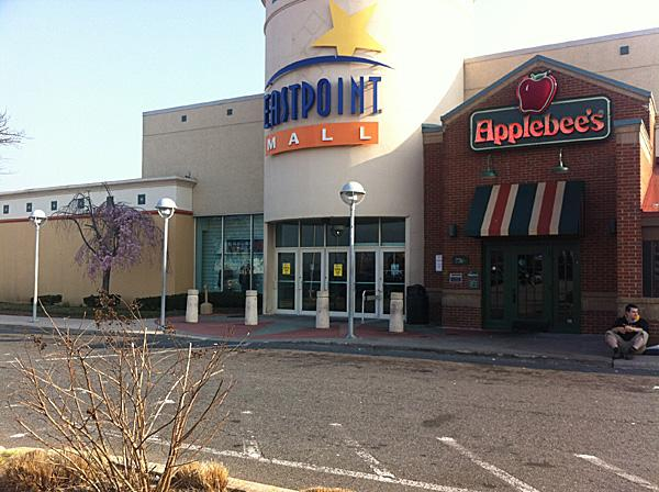 Eastpoint Mall has been placed under receivership.