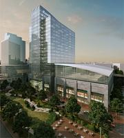 A rendering of Exelon's planned new headquarters at Harbor Point.