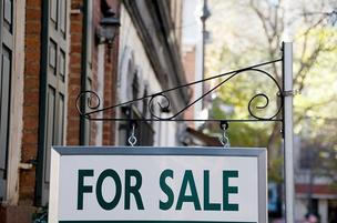 Baltimore-area home sales stayed flat in April.