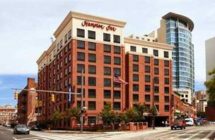 The Hampton Inn Downtown Baltimore is one of the 10 area hotels MCR bought recently.