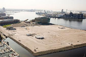 Harbor Point, the waterfront site between Harbor East and Fells Point, is the choice for a new Constellation Energy headquarters.