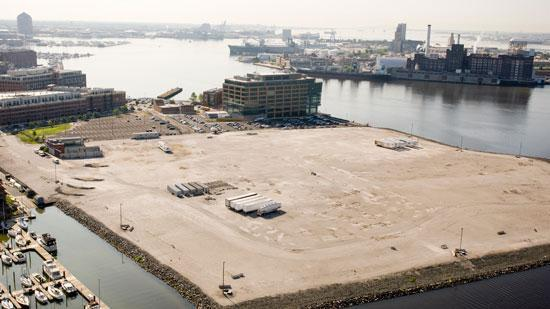 Harbor Point is a 28-acre waterfront parcel along the Inner Harbor.