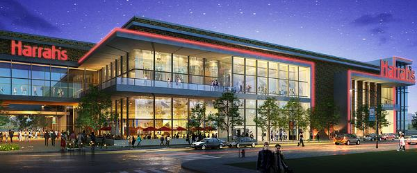 An artist's rendering of the planned Horseshoe Baltimore casino, formerly known as Harrah's Baltimore.