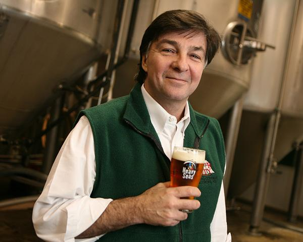 Hugh Sisson owns Heavy Seas Brewing Co. A Heavy Seas Brew House plans to open in the Tack Factory on Bank Street.