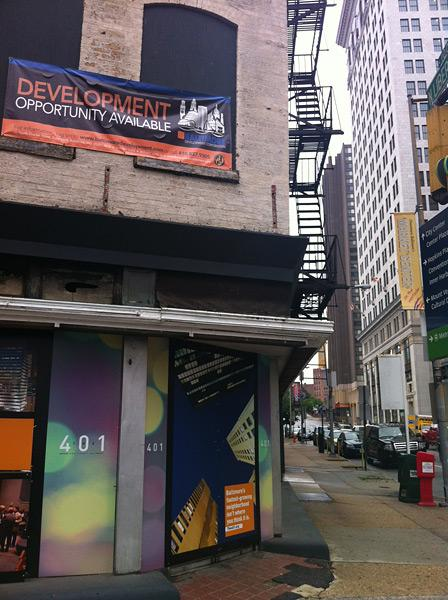 The Baltimore Development Corp. is trying to spur progress on downtown's west side.