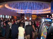 VIP guests mingle inside theentrancefor Maryland Live!