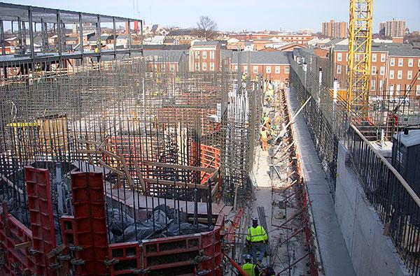The Maryland Proton Treatment Center will be topped out on Thursday.