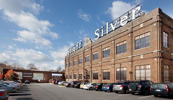 The Stieff Silver Buliding is on the market.