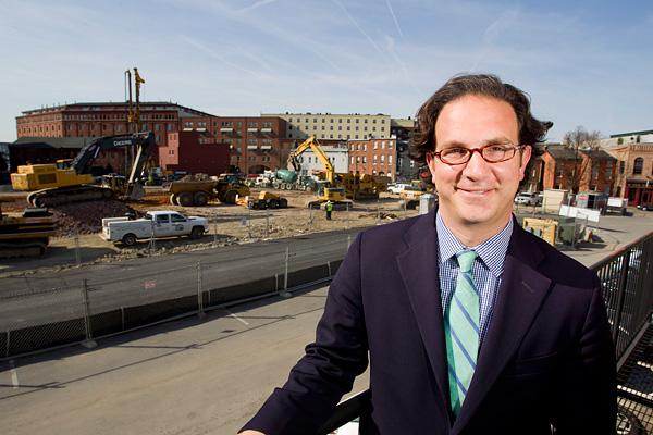 Bozzuto Group President Toby Bozzuto says the company's Locust Point apartment complex will be different from past developments.