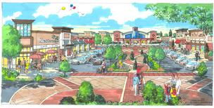 Laurel Town Center redevelopment