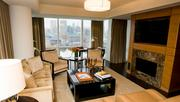 Four Seasons BaltimoreA July 4th stay in the 1,100-square-foot Harbor Suite at Baltimore's Four Seasons hotel costs more than $3,000. With his new contract Flacco could stay in the suite, at that price, for 39,788 straight days. That means the quarterback would not have to start looking for a new place until July, 2122.