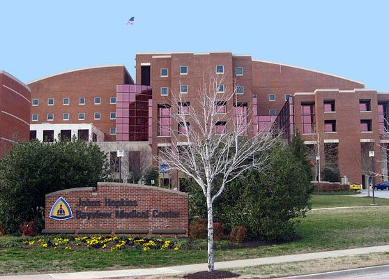 Johns Hopkins Bayview Medical Center in East Baltimore.